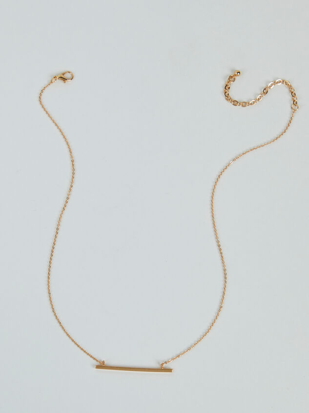 Raise The Bar Necklace Detail 3 - ARULA formerly A'Beautiful Soul