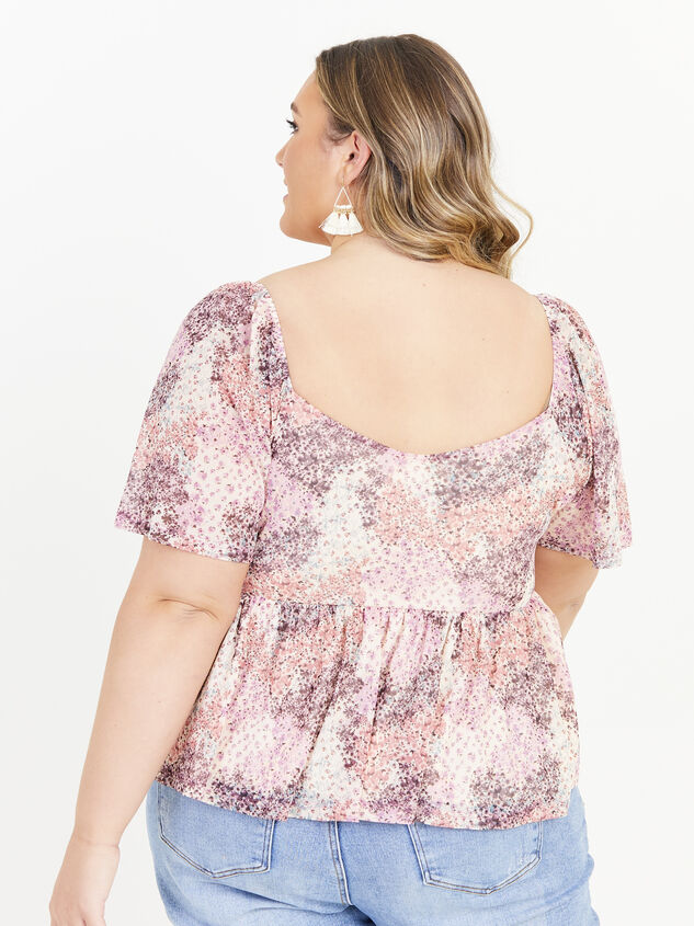 Piper Floral Top Detail 3 - ARULA formerly A'Beautiful Soul