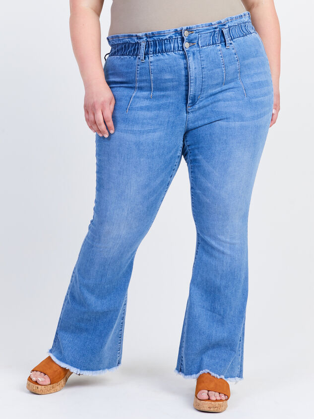 """Ashling 31.5"""" Inseam Jeans Detail 2 - ARULA formerly A'Beautiful Soul"""