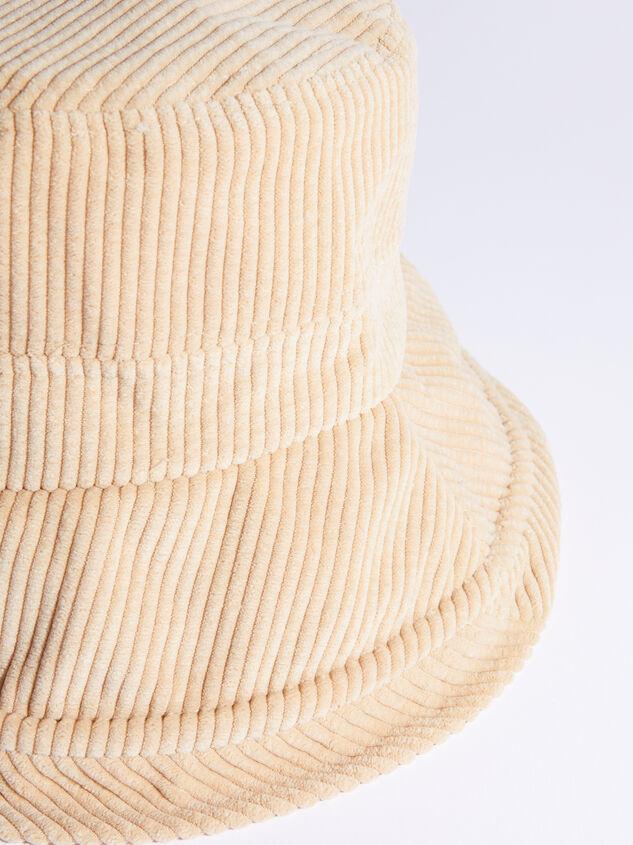 Corduroy Bucket Hat Detail 2 - ARULA
