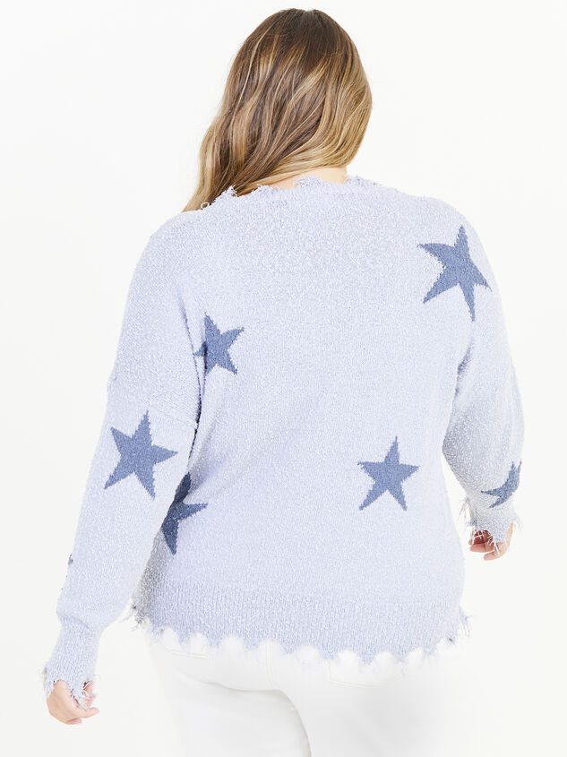 Dreamscape Star Sweater Detail 3 - ARULA formerly A'Beautiful Soul