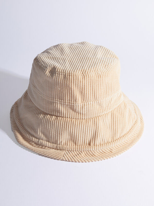 Corduroy Bucket Hat - ARULA