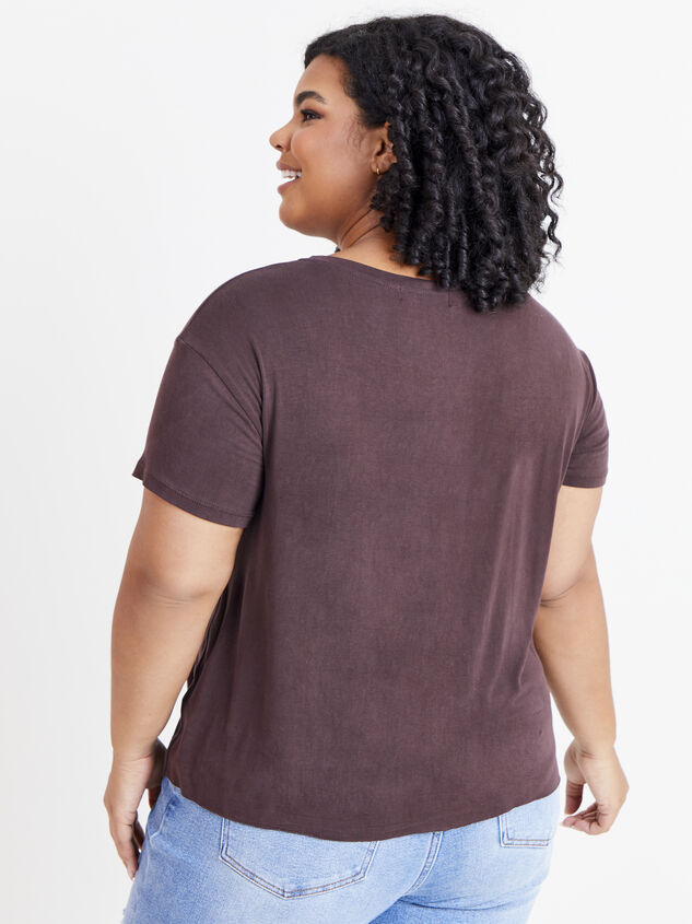 Raised On Dolly Tee Detail 3 - ARULA formerly A'Beautiful Soul