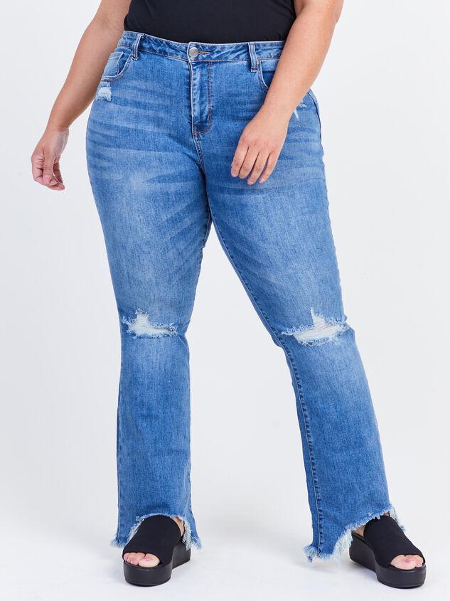 Cory Incrediflex Bootcut Jeans Detail 2 - ARULA formerly A'Beautiful Soul