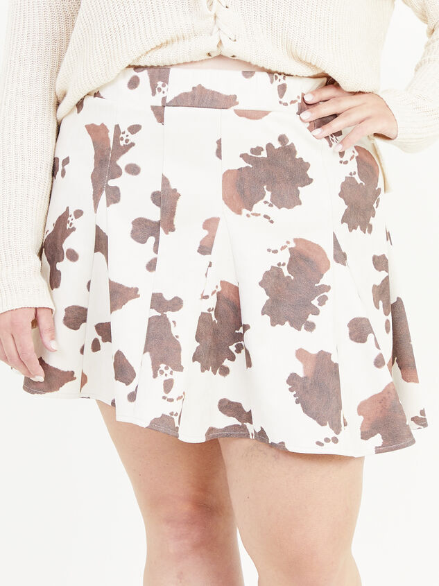 Cowhide Skirt Detail 2 - ARULA formerly A'Beautiful Soul
