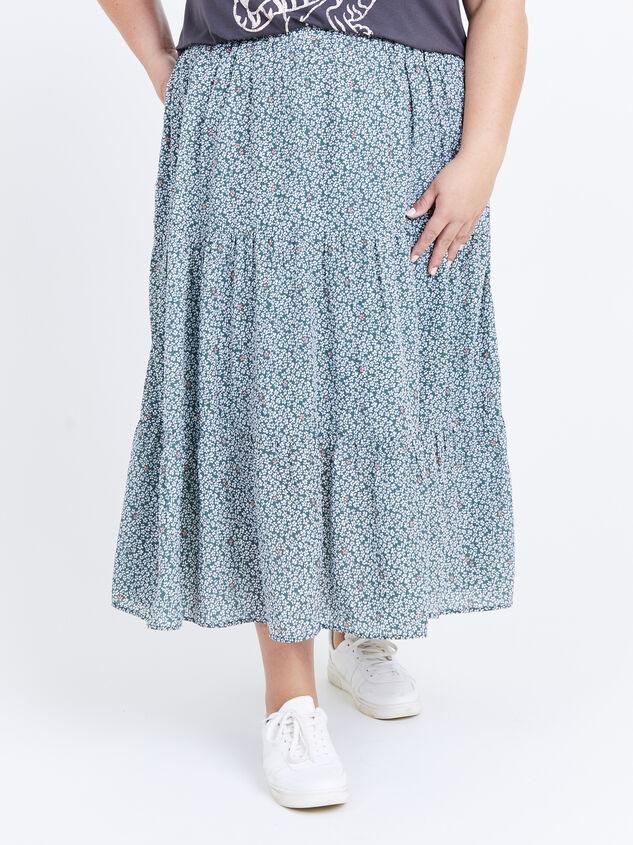 Remi Midi Skirt Detail 2 - ARULA formerly A'Beautiful Soul