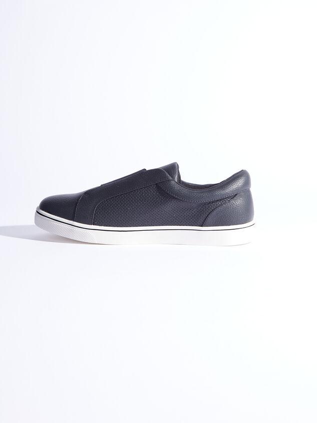 Rery Wide Width Sneakers - Black Detail 4 - ARULA