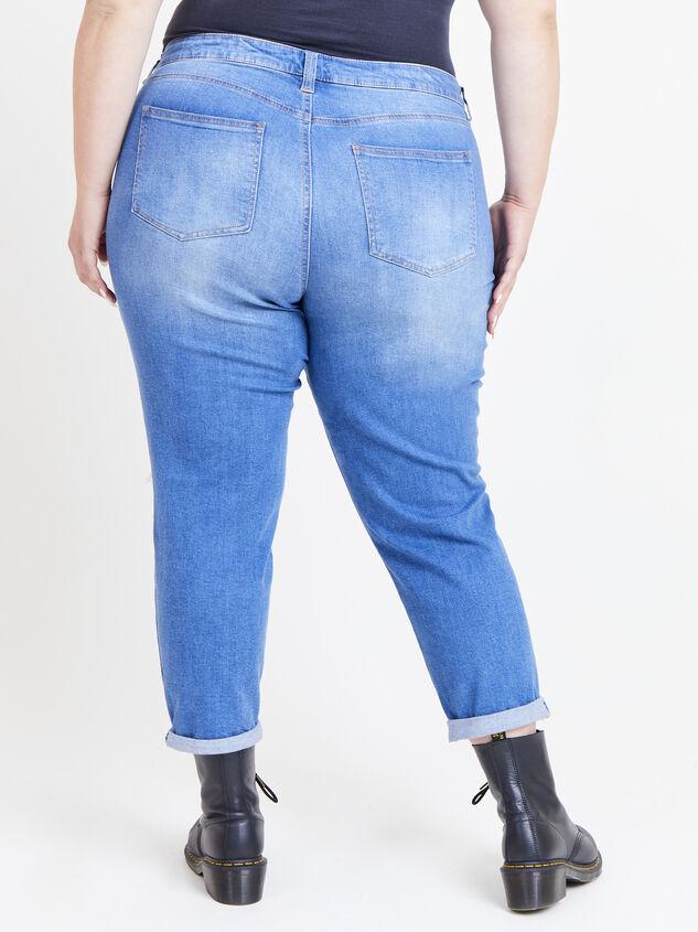 Flashback Girlfriend Jeans Detail 4 - ARULA formerly A'Beautiful Soul