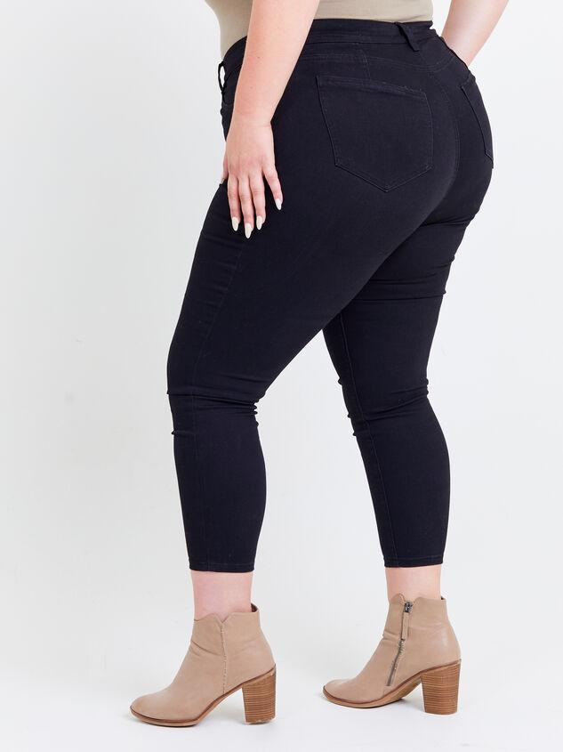 Tatum Curvy Jeans Detail 3 - ARULA formerly A'Beautiful Soul