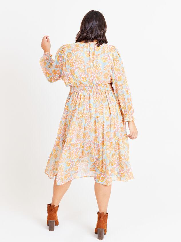 Jolene Maxi Dress Detail 3 - ARULA formerly A'Beautiful Soul