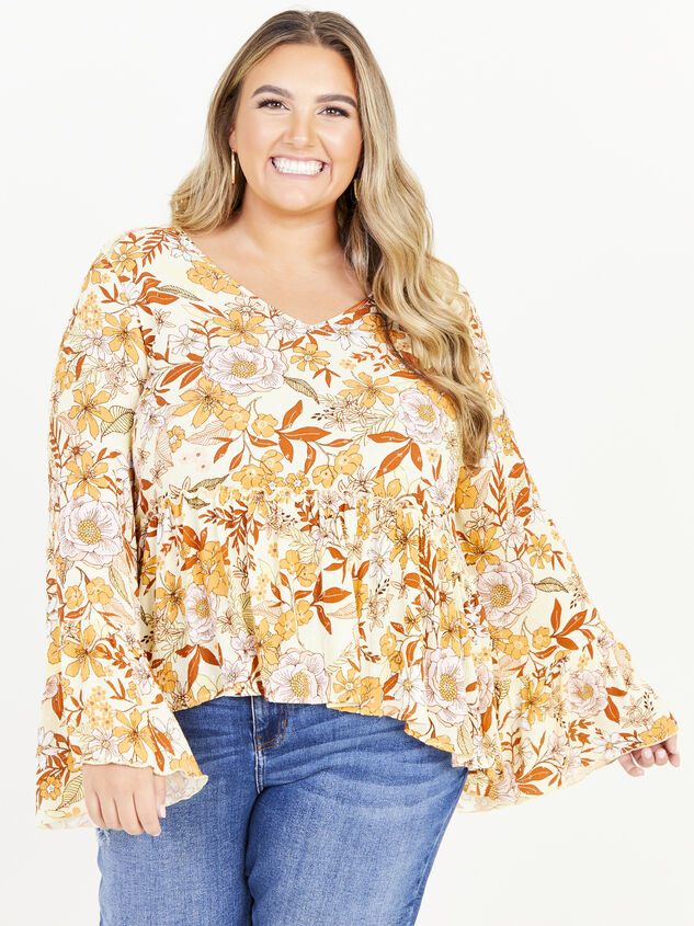 Kenna Top - Yellow Detail 1 - ARULA formerly A'Beautiful Soul