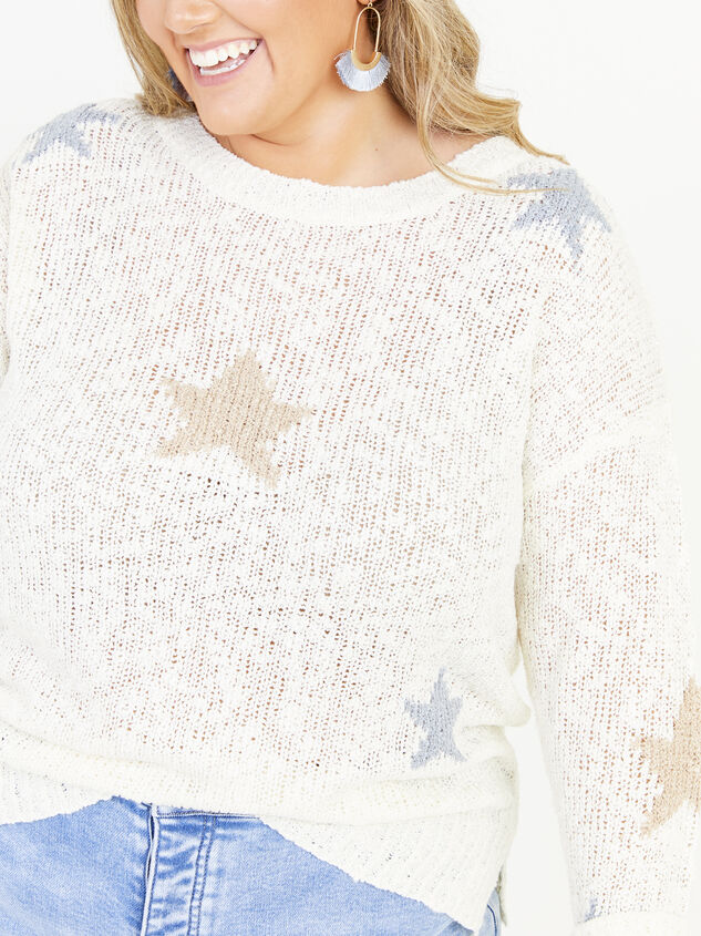 Seeing Stars Sweater Detail 4 - ARULA