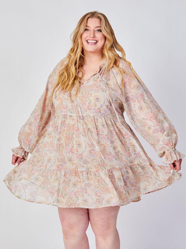 Ashton Paisley Dress - ARULA formerly A'Beautiful Soul