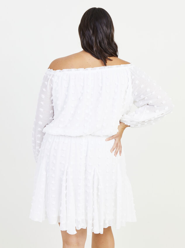 Define Dress - White Detail 2 - ARULA formerly A'Beautiful Soul