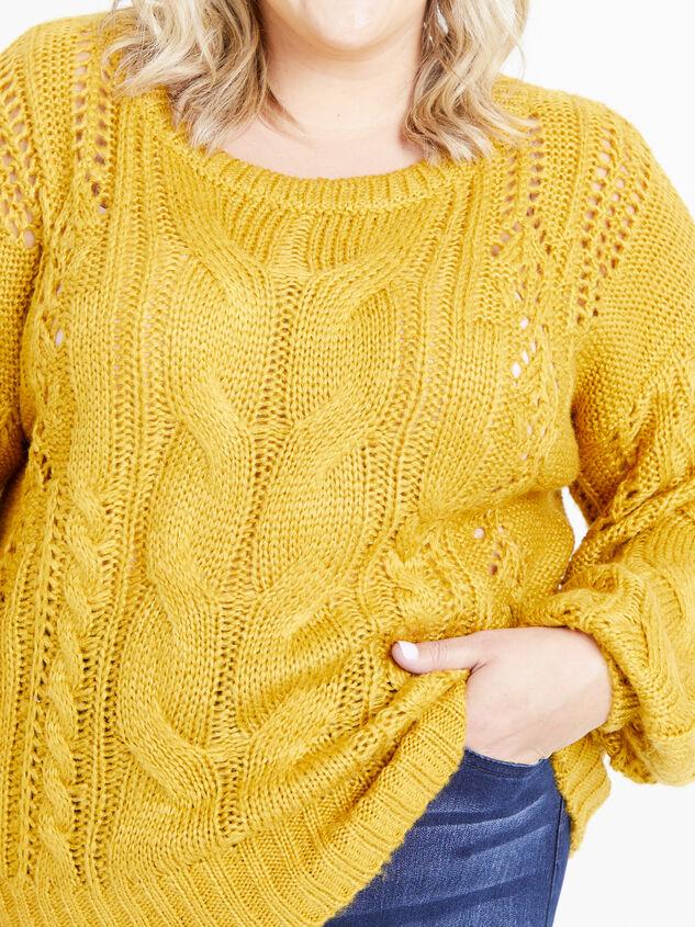 Jane Sweater Detail 4 - ARULA
