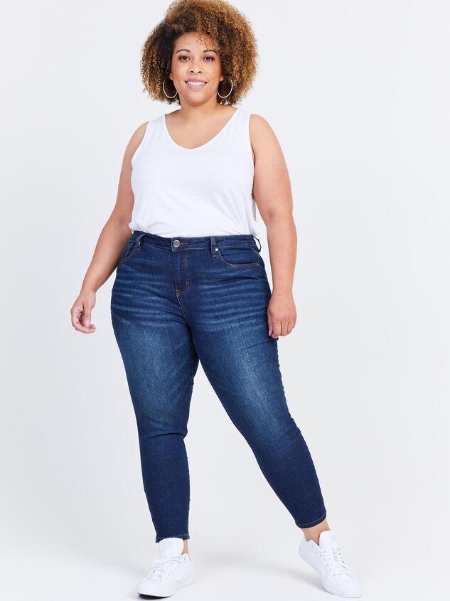 "Incrediflex 27"" Skinny Jeans Detail 1 - ARULA formerly A'Beautiful Soul"