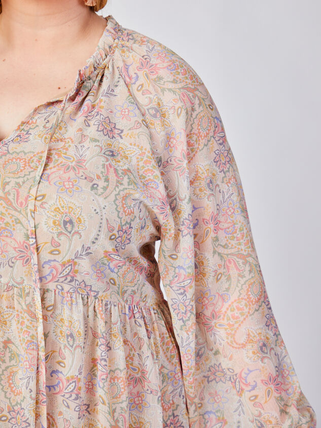 Ashton Paisley Dress Detail 4 - ARULA formerly A'Beautiful Soul