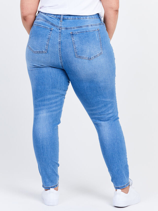 "Incrediflex 29"" Skinny Jeans Detail 4 - ARULA formerly A'Beautiful Soul"