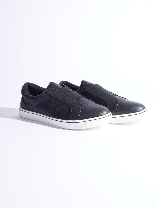 Rery Wide Width Sneakers - Black - ARULA