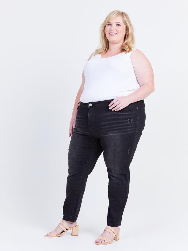 "Incrediflex 29"" Skinny Jeans Detail 6 - ARULA formerly A'Beautiful Soul"