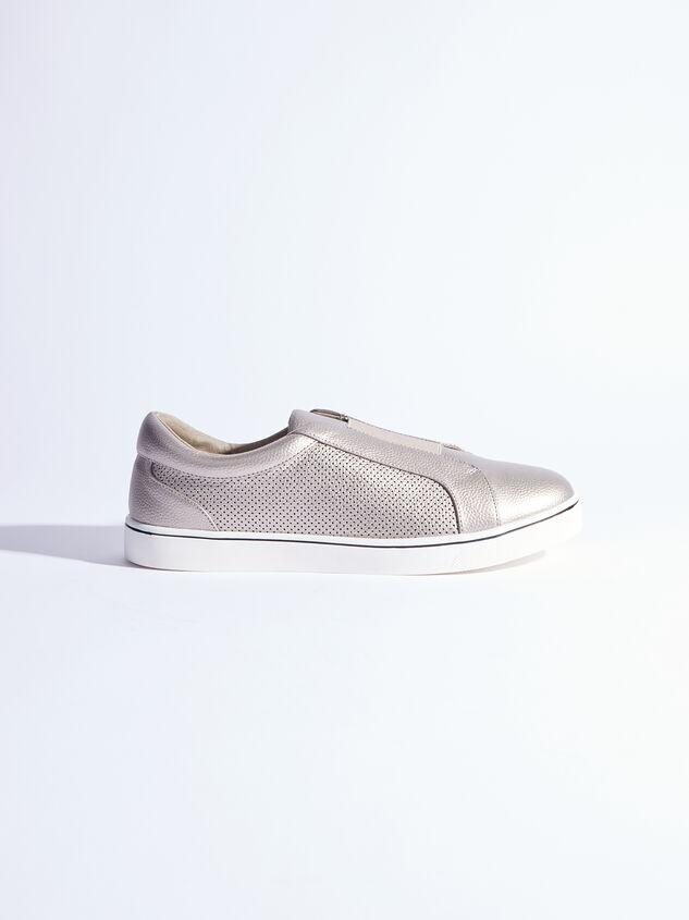 Rery Wide Width Sneakers - Gunmetal Detail 2 - ARULA