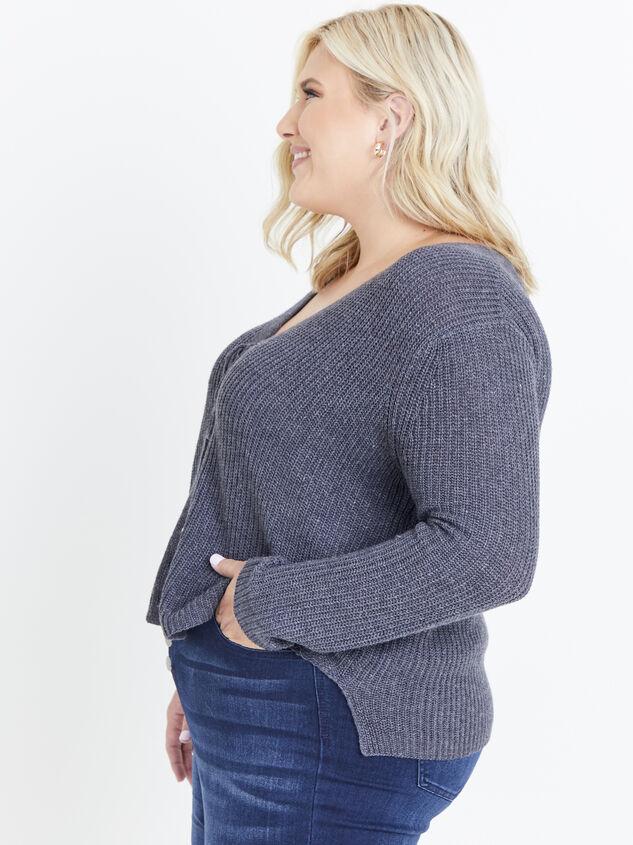 Sadie Sweater Detail 2 - ARULA