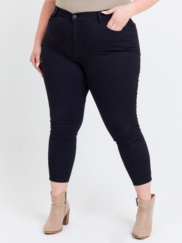 Tatum Curvy Jeans Detail 2 - ARULA formerly A'Beautiful Soul
