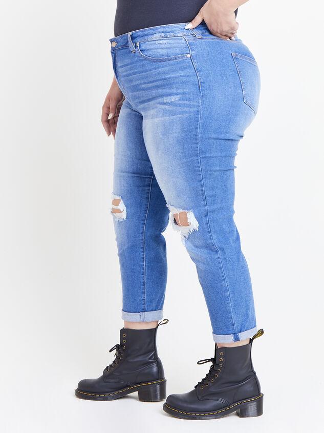 Flashback Girlfriend Jeans Detail 3 - ARULA formerly A'Beautiful Soul