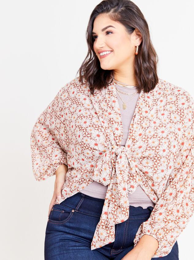 Daisy Kimono Detail 4 - ARULA formerly A'Beautiful Soul