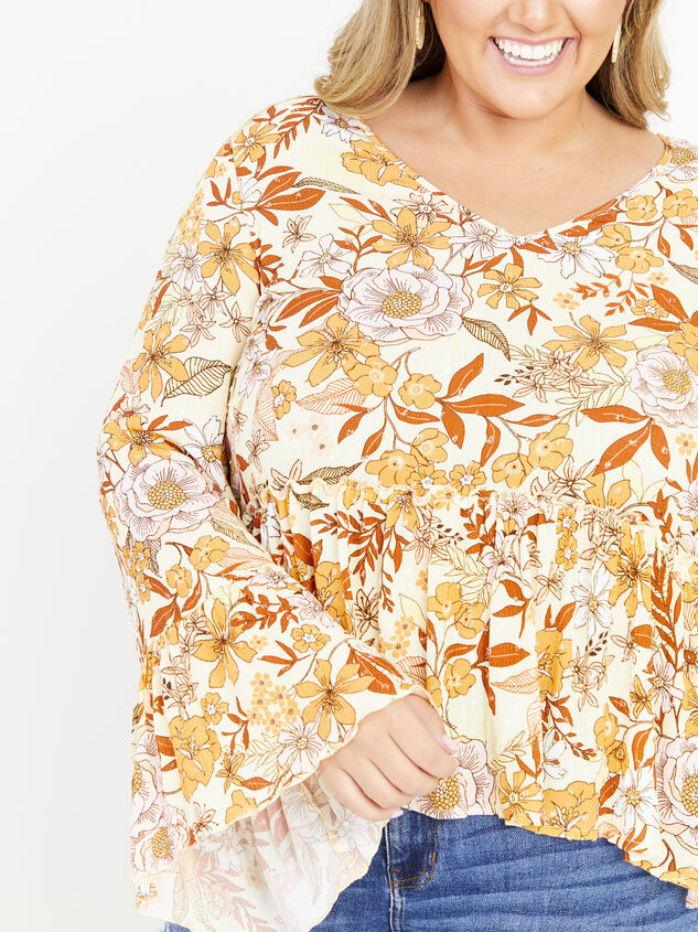 Kenna Top - Yellow Detail 4 - ARULA formerly A'Beautiful Soul