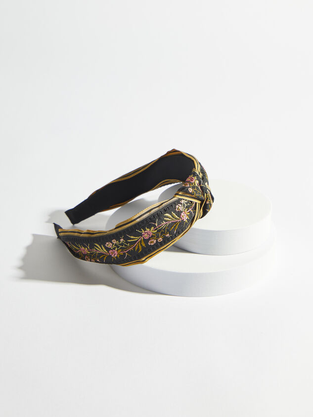 Margot Headband - Black Detail 1 - ARULA formerly A'Beautiful Soul