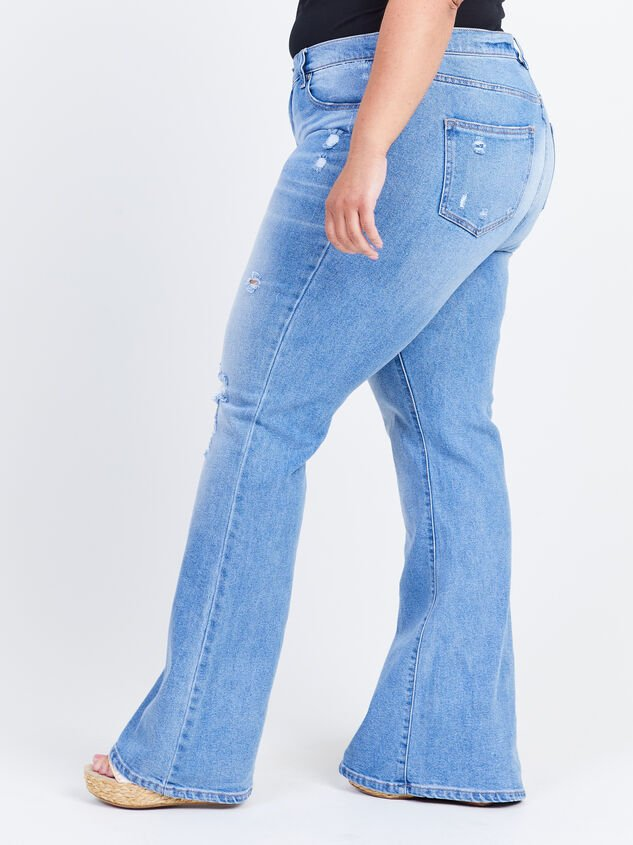 Galveston Flare Jeans Detail 3 - ARULA formerly A'Beautiful Soul