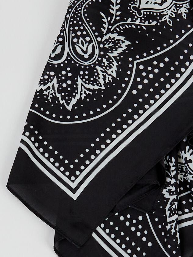Black Bandana Detail 3 - ARULA formerly A'Beautiful Soul
