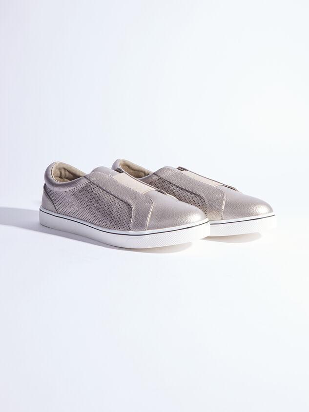Rery Wide Width Sneakers - Gunmetal - ARULA