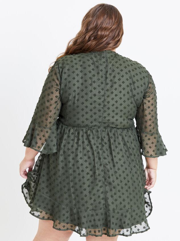 Kira Dress - Olive Detail 3 - ARULA formerly A'Beautiful Soul