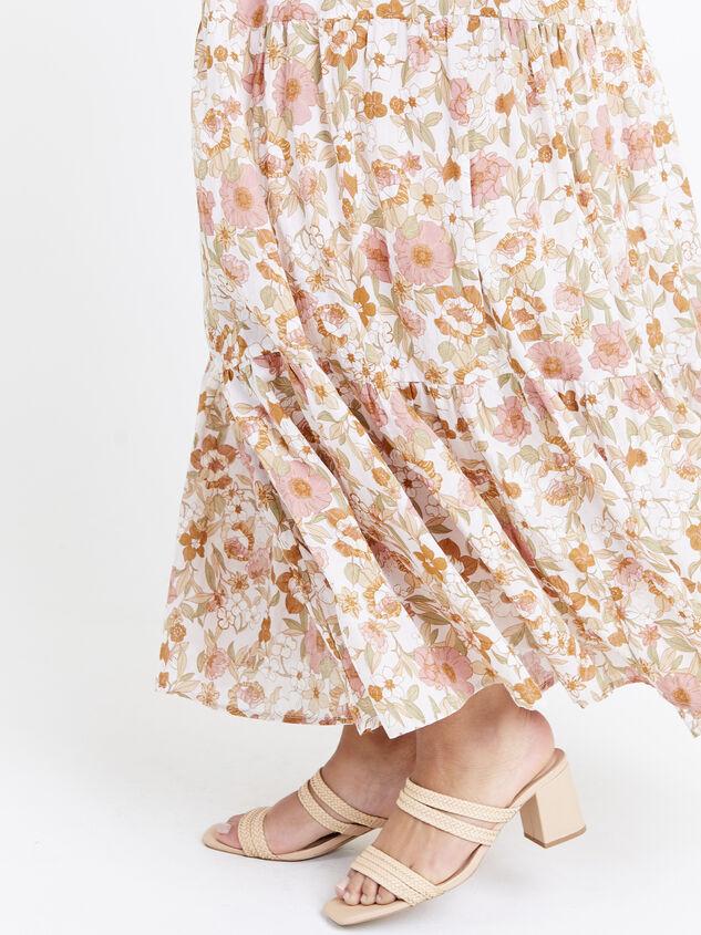 Stevie Midi Skirt Detail 5 - ARULA formerly A'Beautiful Soul