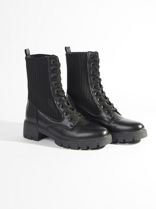 Rumer Wide Width Combat Boots - ARULA