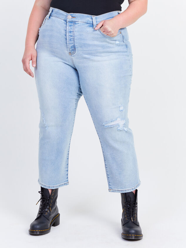 Crystal Beach Straight Jeans Detail 2 - ARULA formerly A'Beautiful Soul