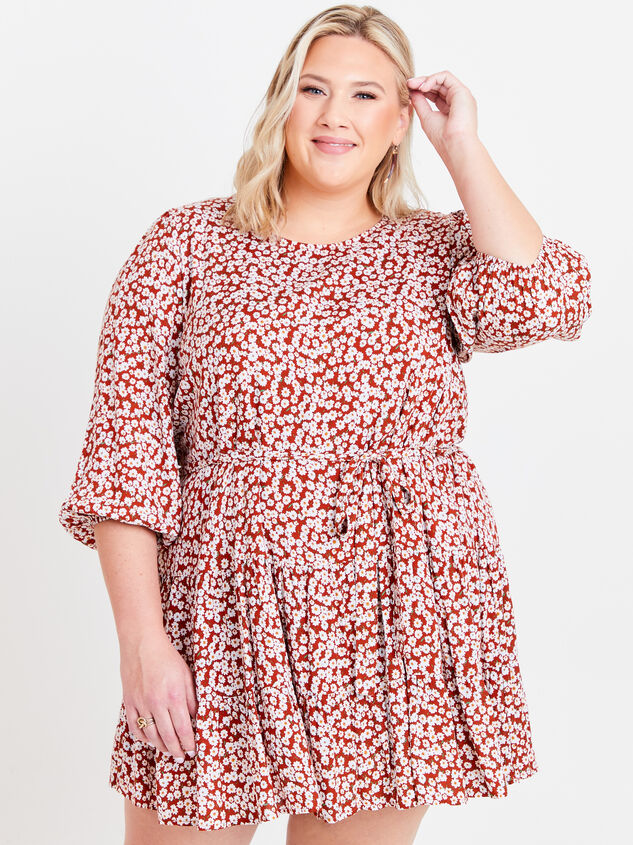 Maeve Floral Dress Detail 1 - ARULA formerly A'Beautiful Soul