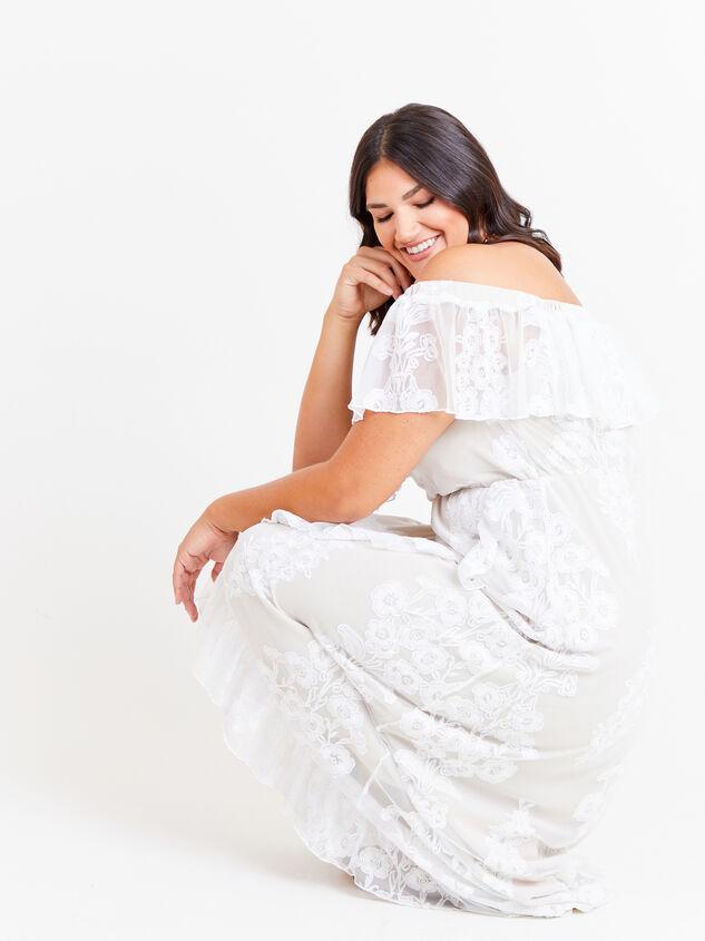 Amberlyn Maxi Dress Detail 5 - ARULA formerly A'Beautiful Soul