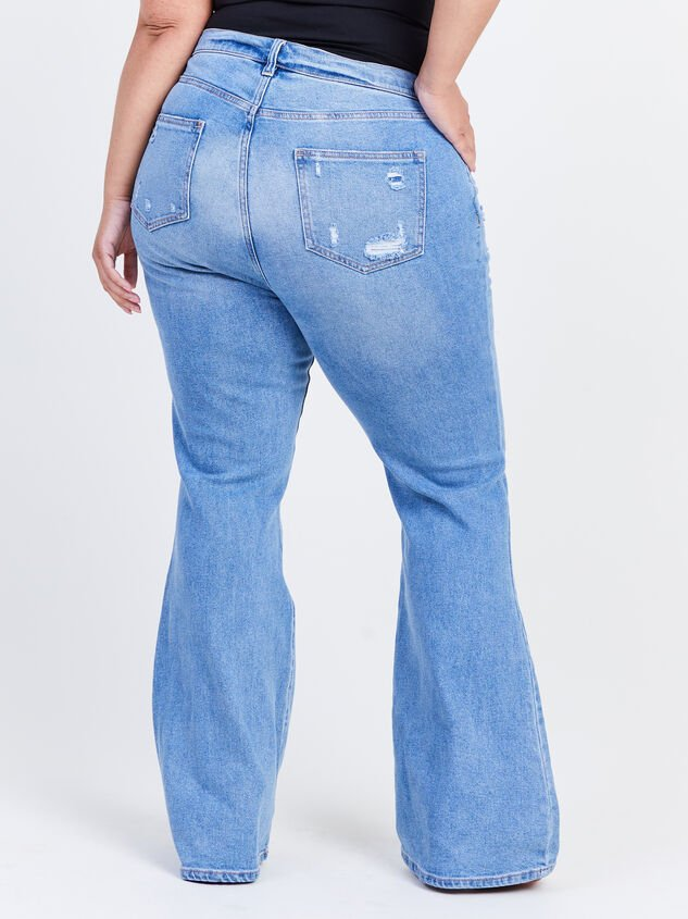 Galveston Flare Jeans Detail 4 - ARULA formerly A'Beautiful Soul