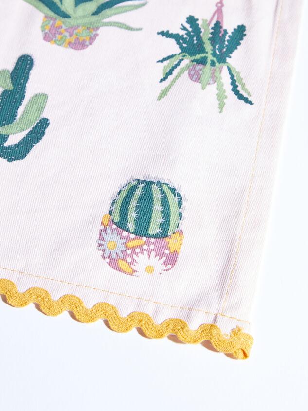 Succulent Tea Towel Detail 3 - ARULA formerly A'Beautiful Soul
