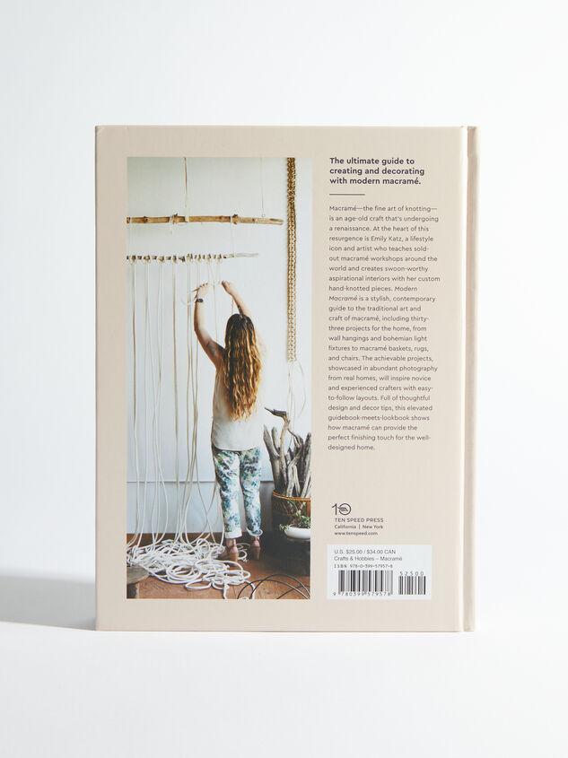 Modern Macramé Book Detail 2 - ARULA formerly A'Beautiful Soul