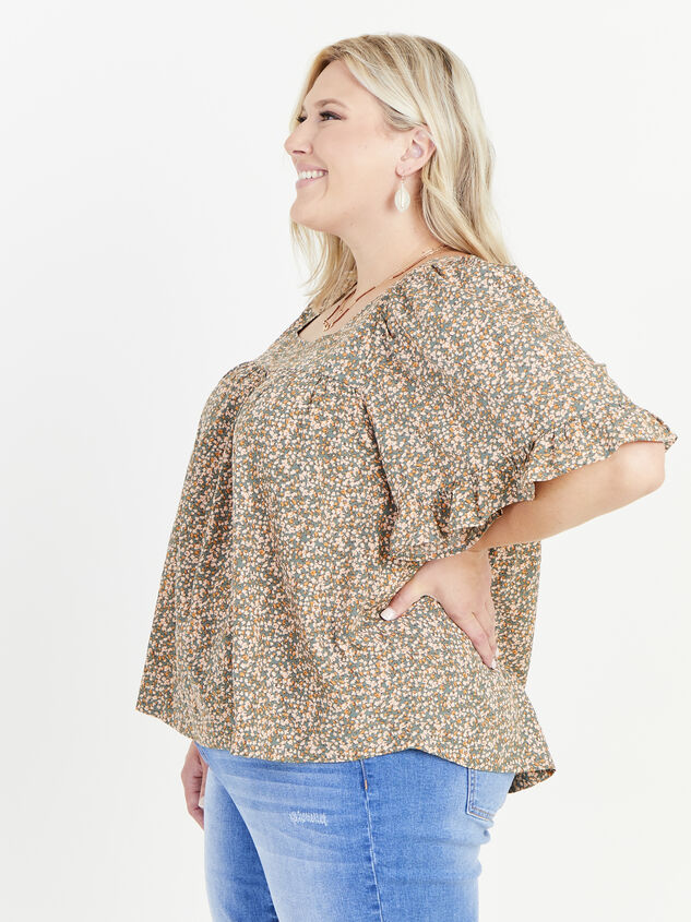 Ellis Floral Top Detail 2 - ARULA formerly A'Beautiful Soul