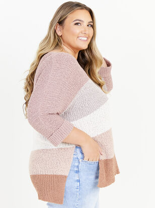 Easy To Love Striped Sweater - ARULA