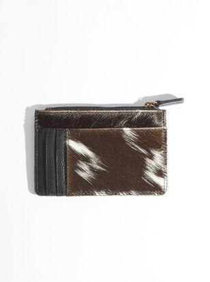 Black Fur Cardholder - ARULA