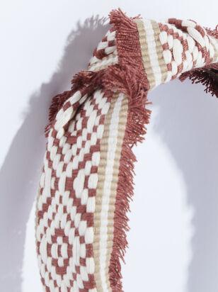 Elliana Headband - Brick Red - ARULA