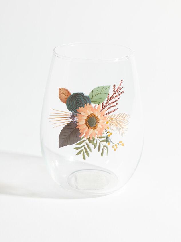 Wildflower Wine Glass Detail 1 - ARULA formerly A'Beautiful Soul