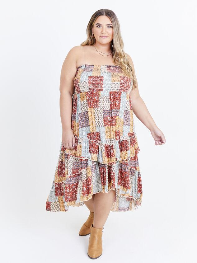 Karolina Convertible Dress - Patchwork - ARULA