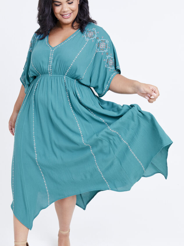 Dakota Embroidered Dress Detail 4 - ARULA formerly A'Beautiful Soul
